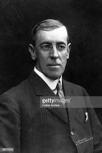 The President Elect of the United States Woodrow Wilson