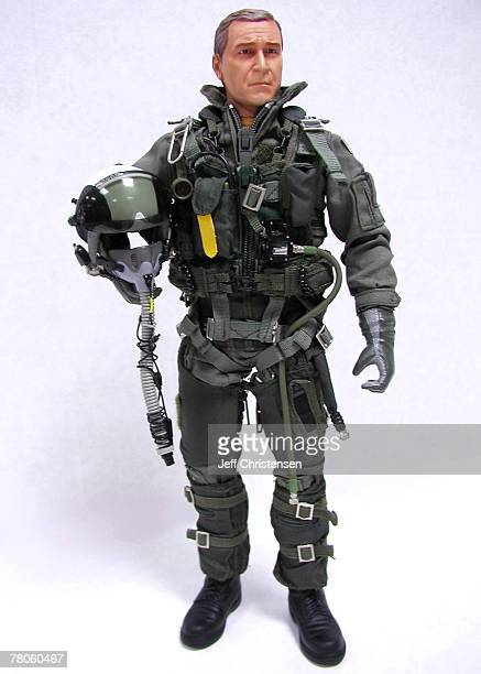 The President George W Bush action figure made by Blue Box Toys a Chinese company will be available in toy stores by September The company is hoping...