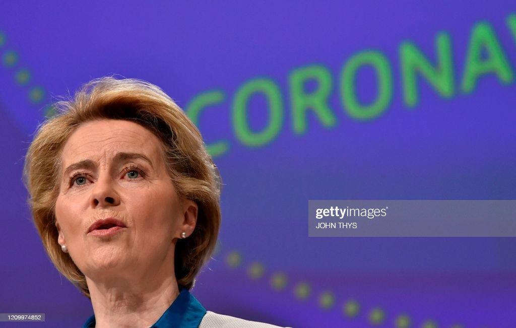 BELGIUM-EU-HEALTH-VIRUS : News Photo