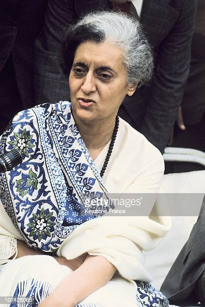 The President Of India Indira Gandhi In India