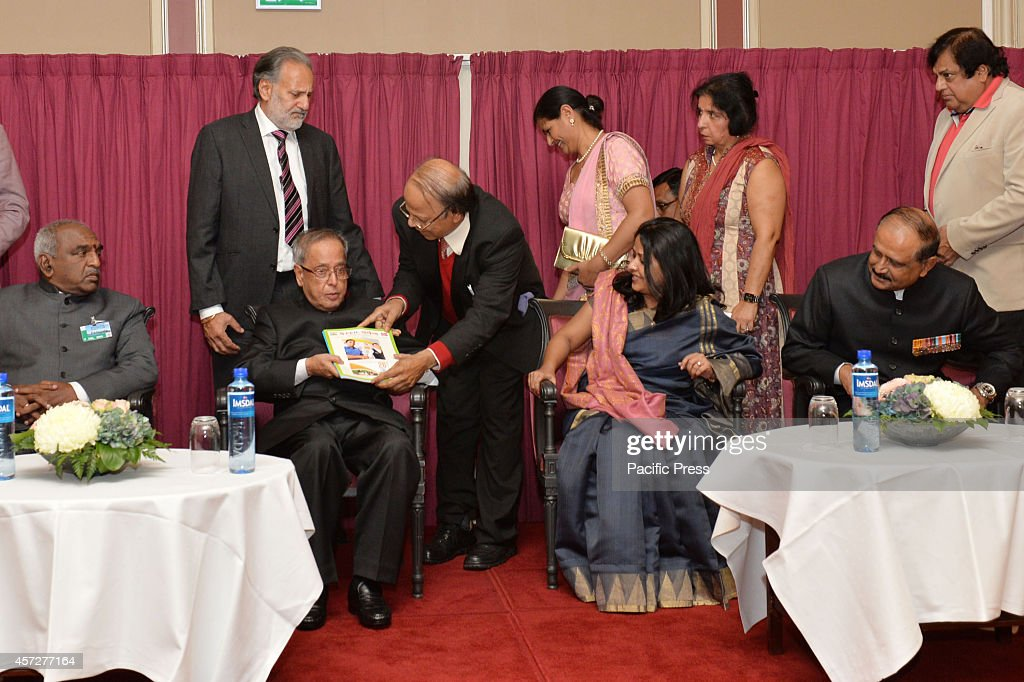 The President of India, Shri Pranab Mukherjee during a... : News Photo