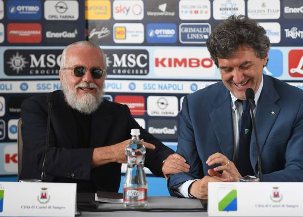ITA: SSC Napoli Press Conference