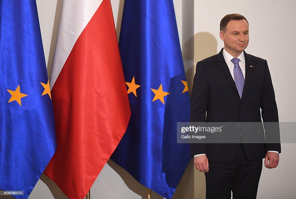 Ceremony of Posthumously Awarding of a Generals Nomination to Jan Karski : Nachrichtenfoto