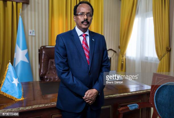 The president of Somalia Mohamed Abdullahi Mohamed Farmagio the 9th elected president of this complicated country President Farmagio is an American...