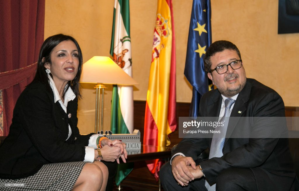 Marta Bosquet Opens The Round Of Contacts To Propose A Candidate To President Of Andalusia : News Photo