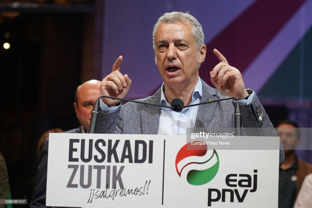 Elections Day In the Basque Country : News Photo
