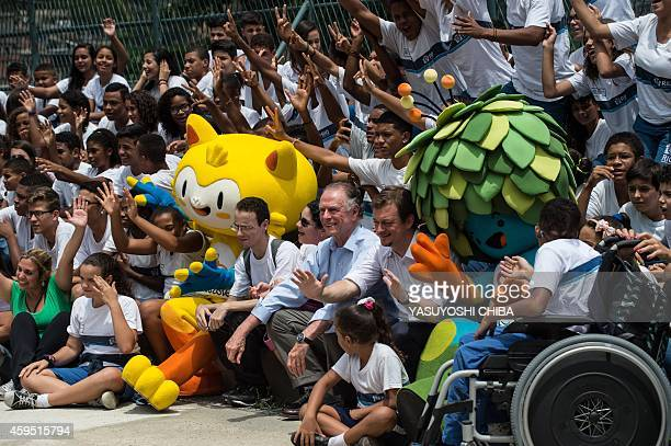 The President of the Brazilian Olympic Committee and head of the Rio 2016 Olympic Games Carlos Nuzman and the President of the Brazilian Paralympic...