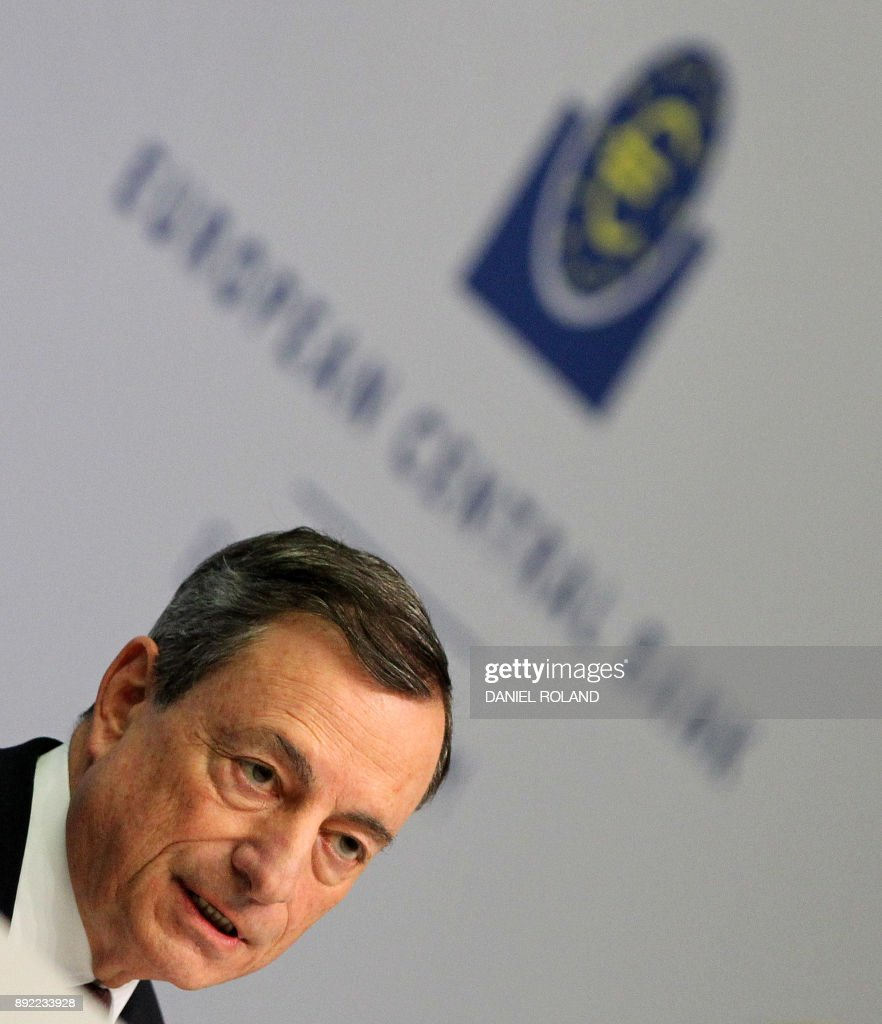 Mario Draghi Press Conference Following ECB Meeting