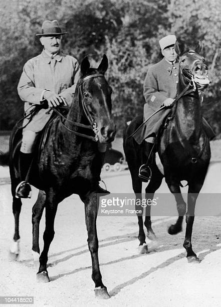 The President Of The French Republic Returning On Horseback To Rambouillet Castle After Assisting At The First Battue Of His Guests