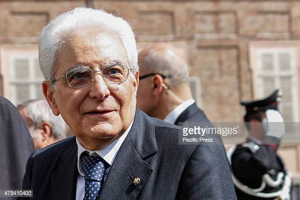 The President of the Italian Republic Sergio Mattarella visited privately the Duomo for the Exposition of the Holy Shroud