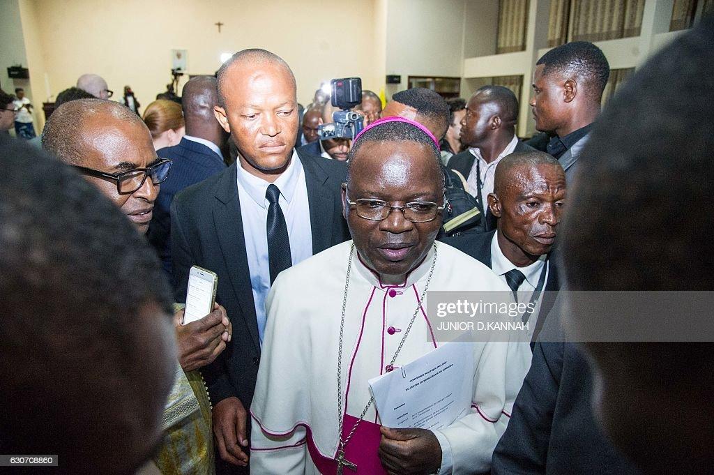 RDCONGO-POLITICS-AGREEMENT : News Photo