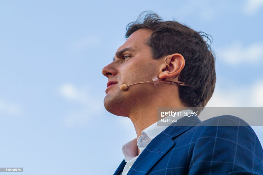 ESP: Spanish Ciudadanos Party Campaign In Madrid