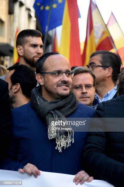 The President of the Popular Party of Catalonia Alejandro Fernandez seen during the event Two thousand people celebrated the 40th Anniversary of the...