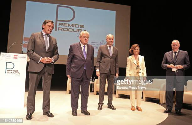 The president of the Royal Academy of Jurisprudence and Legislation, Manuel Pizarro Moreno , the former first vice-president of the Government and...
