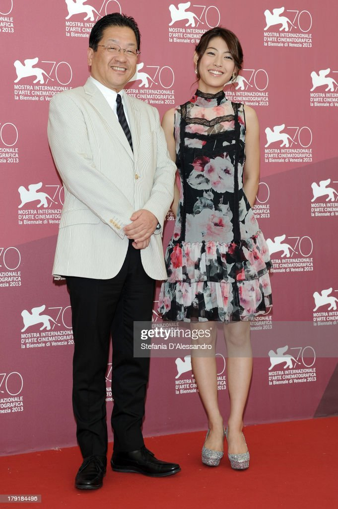 """Kaze Tachinu"" Photocall  - The 70th Venice International Film Festival"