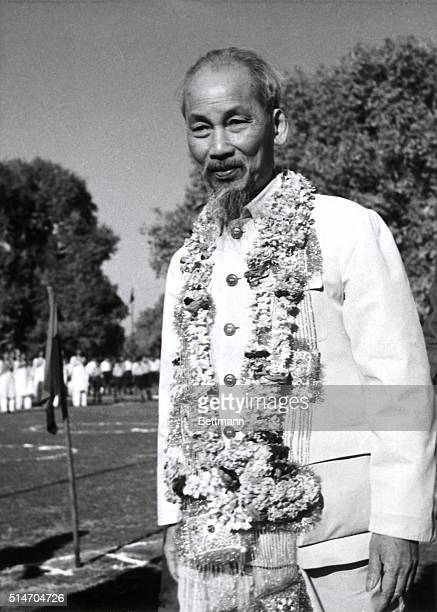 The President of Vietnam, Ho Chi Minh, visits Delhi, India on an official state visit.