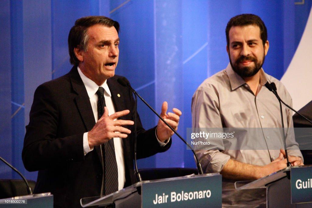 Brazil's Presidential Debate : News Photo