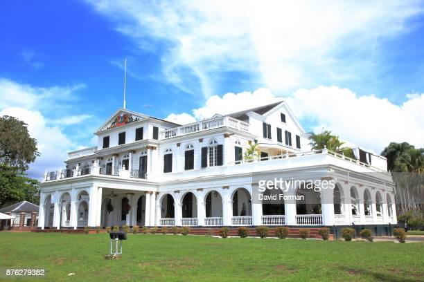 The Presidential Palace in Paramaribo (capital of Suriname).
