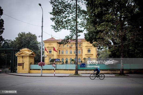 The Presidential Palace stands in Hanoi Vietnam on Saturday Feb 16 2019 Vietnam has beenbuilding military tieswith the US to balance a rising China...