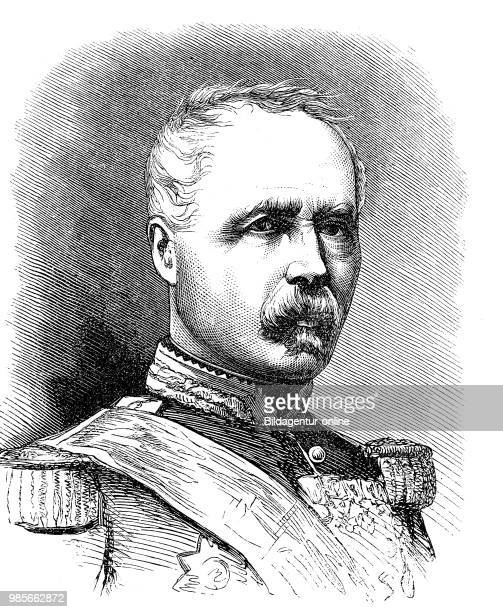 The PresidentMarshal Marie Esme Patrice Maurice Count de Mac Mahon The Duke of Magenta 13 June 1808 17 October 1893 was a French general and...