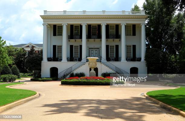 The President's Mansion at the University Of Alabama in Tuscaloosa, Alabama on July 5, 2018.