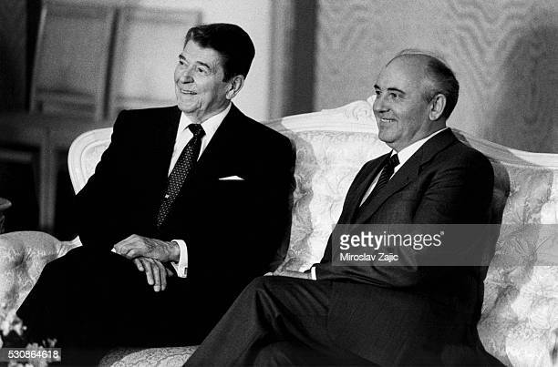 The Presidents of the US and the USSR at the fourth summit between the two superpowers Here they formalized developments made in Washington and...