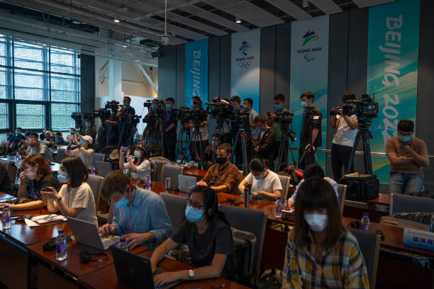 CHN: Beijing 2022 Press Conference On Construction Update For Beijing 2022 Winter Olympic & Paralympic Games Venues