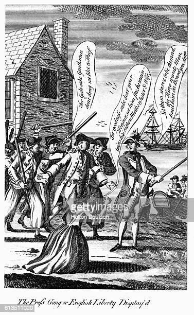 The Press Gang or English Liberty Display'd