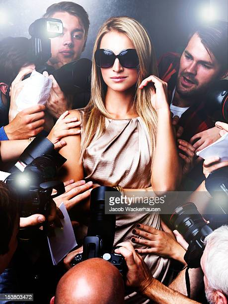 the pressure of fame - celebrities photos stock pictures, royalty-free photos & images