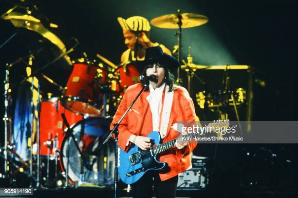 The Pretenders live at Nippon Budokan Hall August 13 Chrissie Hynde