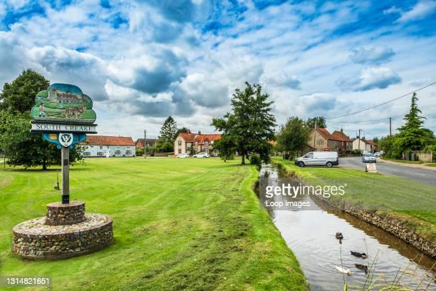 The pretty Norfolk village of South Creake.