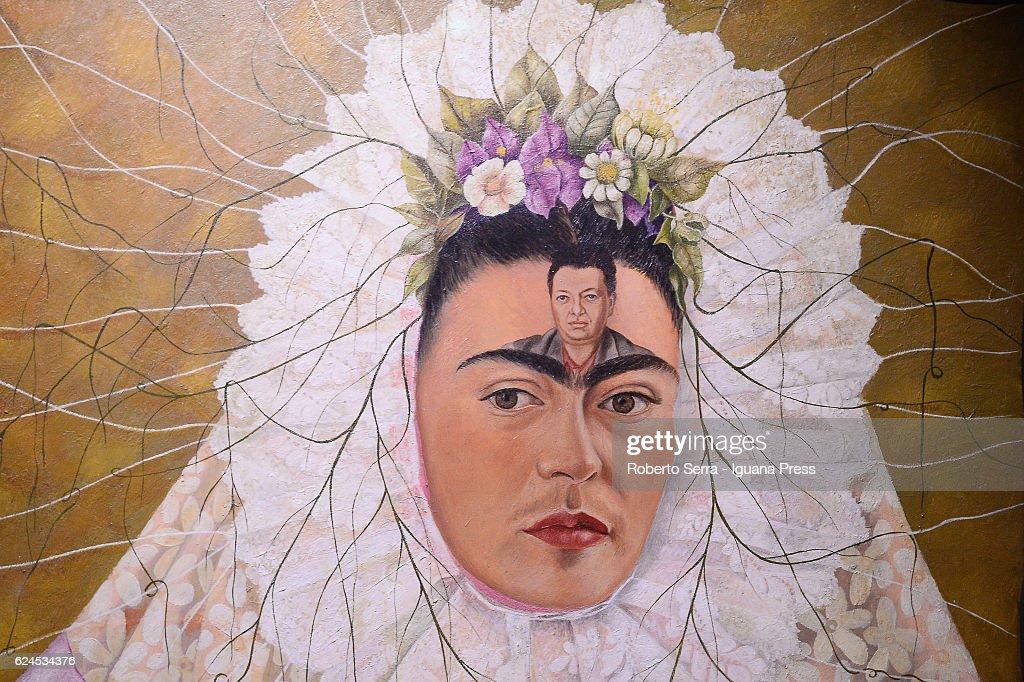 'La Collezione Gelman - Frida Kahlo And Diego Rivera' Exhibition Preview : News Photo
