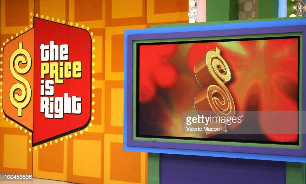 The Price Is Right Daytime Emmysthemed episode is taped at CBS Studios on May 24 2010 in Los Angeles California