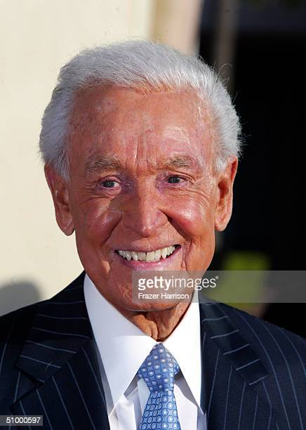 The Price is Right Game Show Host Bob Barker who was one of the honoree's attends the Academy of Television Arts and Sciences Hall of Fame Induction...