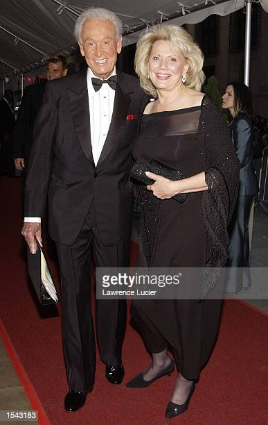 The ''Price is Right'' host Bob Barker and wife arrive on May 17 2002 for the 29th Annual Daytime Emmy Awards at Madison Square Gardens'' Theater in...