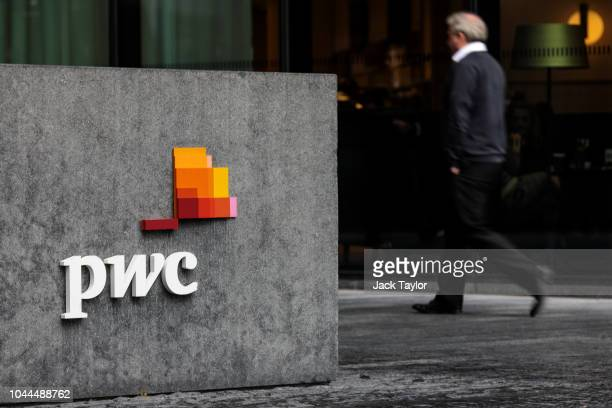 The PricewaterhouseCoopers offices stand in More London Riverside on October 2 2018 in London England The government has called for a review of the...