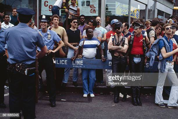 The Pride Parade on Fifth Avenue in New York City June 1984