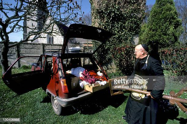 The Priest And His Problem In France In 1987 How to return all equipment to say Mass in a small car that is the question Scots Wright's father...