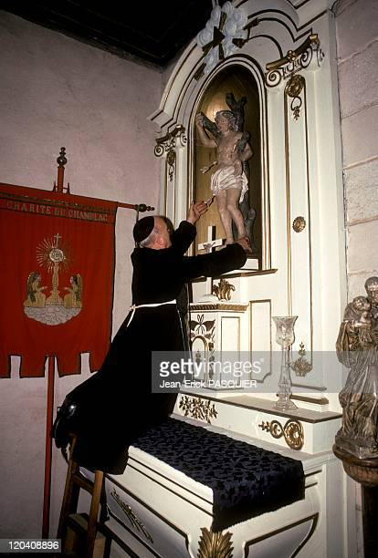 The Priest And The Saint In France In 1987 The maintenance of a church is a work of every momentUpon his arrival in his parish the priest had...