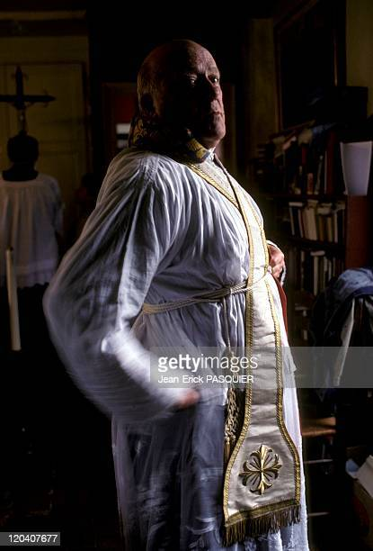The Priest Coquettish In France In 1987 Father cares for his image with a little flirtationa Country Priest Father Montgomery Quintin Wright of...