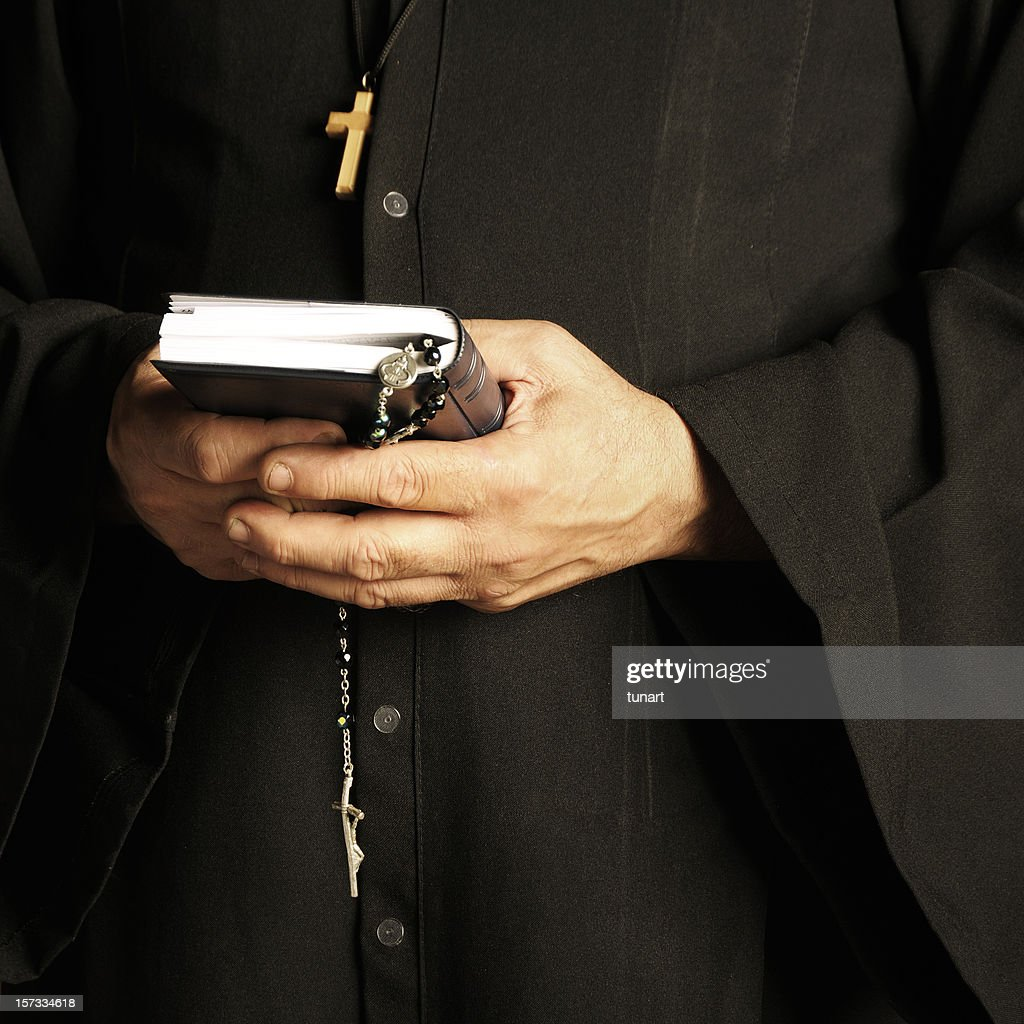 The Priest : Stock Photo