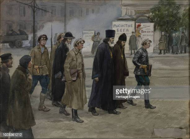 The priests conveyed to judgment 1922 Private Collection