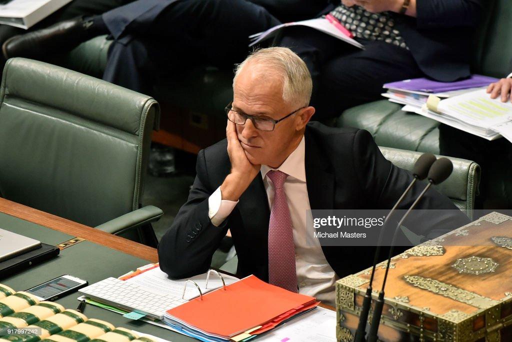 Deputy Prime Minister Barnaby Joyce Faces Scrutiny In Parliament : News Photo