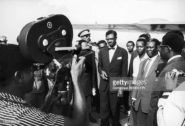 The Prime Minister of Congo Kinshasa Patrice Lumumba in Congo in 1960