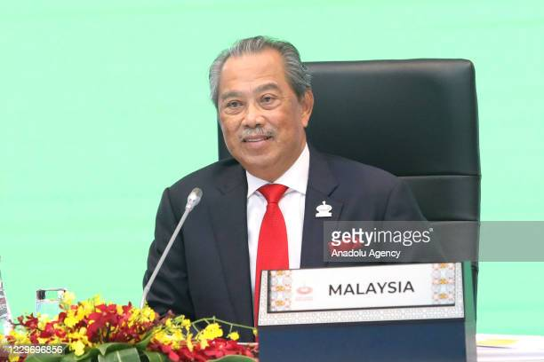 The Prime Minister of Malaysia, Muhyiddin Yassin is chairing the APEC 2020 meeting of the heads of state level through a video conference in Kuala...