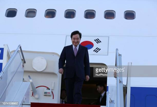 The Prime Minister of the Republic of South Korea Lee NakYeon arrived in Algiers on December 16 2018 in Algeria Prime Minister of the Republic of...