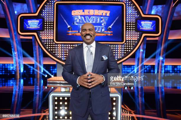 FEUD The primetime summer hit Celebrity Family Feud is hosted by Steve Harvey