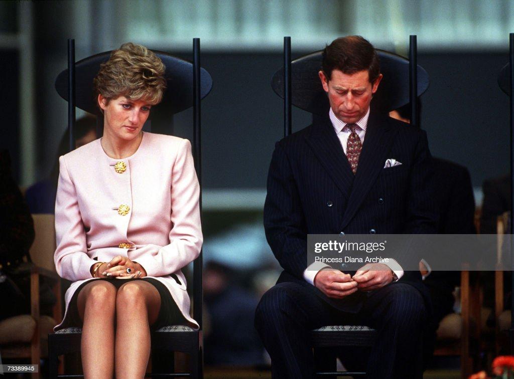 Charles And Diana : News Photo