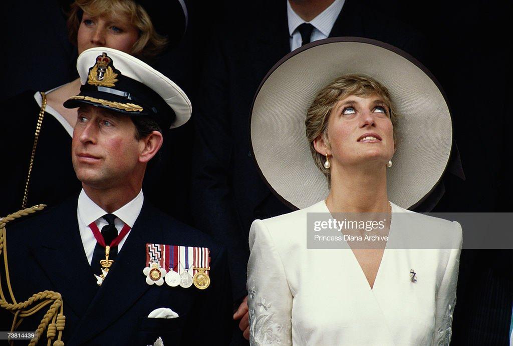 The Wales' At Parade : News Photo