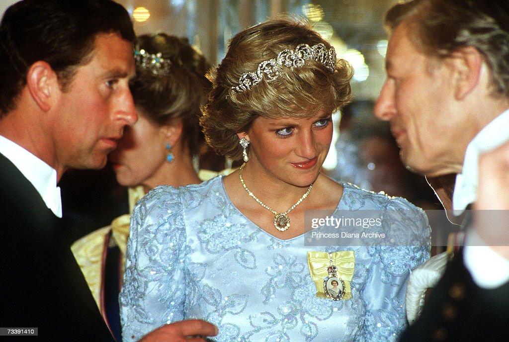 Diana At Banquet : News Photo
